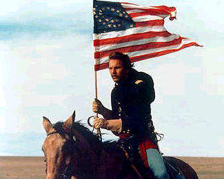 an analysis of the movie dances with wolves These first halting words are the crucial moments in kevin costner's dances with wolves, a film about a white man who goes to live with indians and learns their civilization at first hand advertisement in real life, such contacts hardly ever took place.